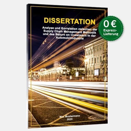 Dissertation drucken binden Magazinbindung stehend