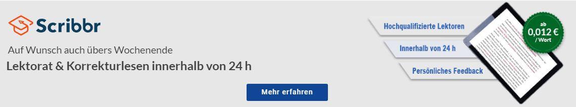 Korrektorat deutsch Muttersprachler Lektorat
