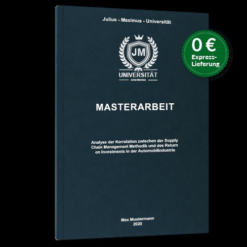 Masterarbeit binden Premium Hardcover