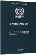 Masterarbeit drucken binden Premium Hardcover