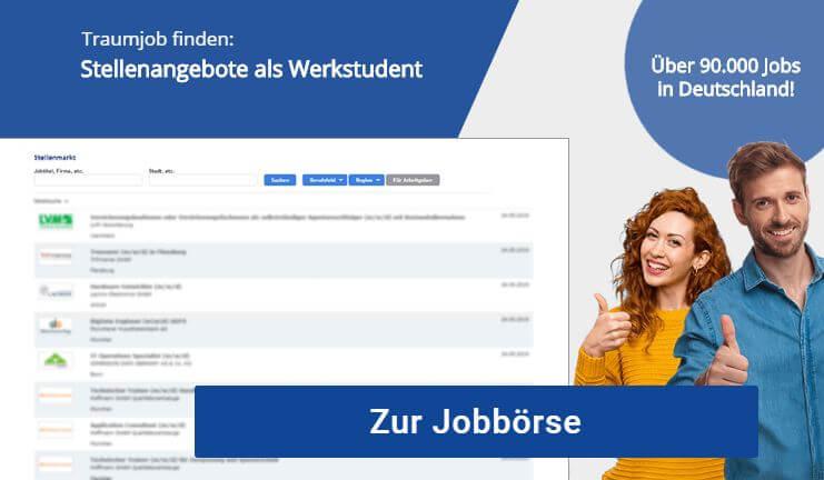 Werkstudent Stuttgart Jobbörse Stellenangebote