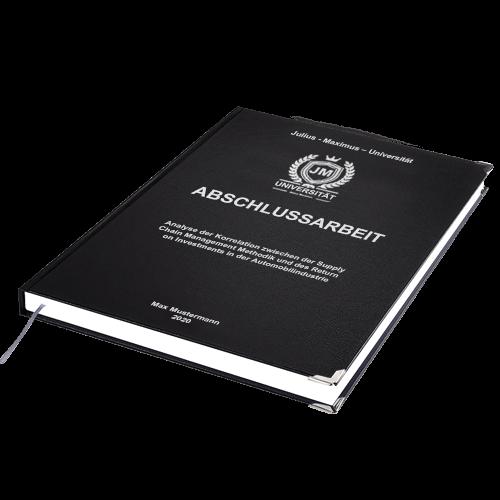 Abschlussarbeit binden lassen Hardcover Standard