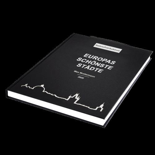 Buch binden Standard Hardcover liegend