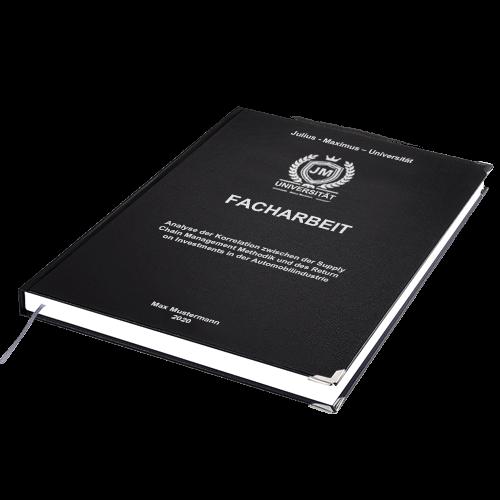 Facharbeit Standard Hardcover drucken binden