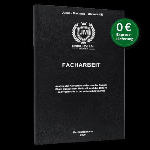 Facharbeit Standard Hardcover online binden