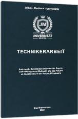 Technikerarbeit drucken Premium Hardcover