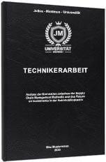 Technikerarbeit drucken Standard Hardcover