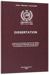 Lektorat Preis Beispiel Dissertation
