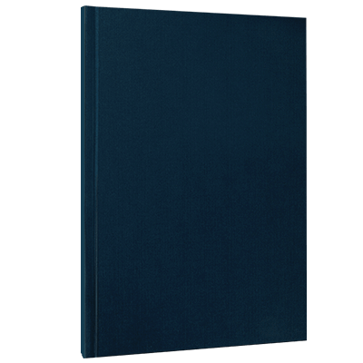 Hardcover blau Super Deals