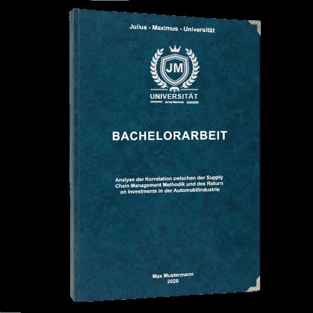Bachelorarbeit binden Frankfurt
