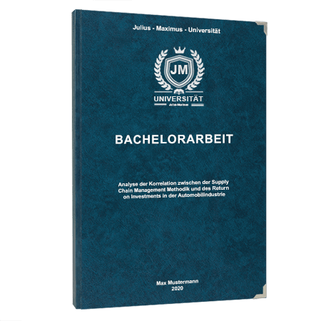Bachelorarbeit binden Hamburg