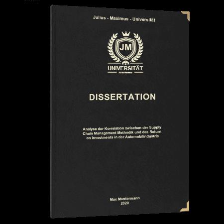 Dissertation drucken