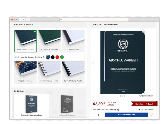 Halle Onlinedruckerei