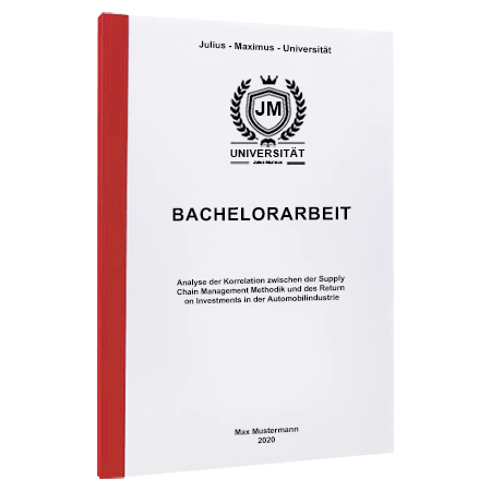 Bachelorarbeit drucken Osnabrück