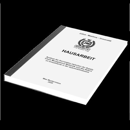 Drucken Bachelorarbeit Nürnberg
