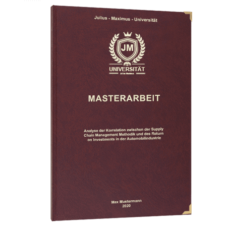 Masterarbeit binden Konstanz