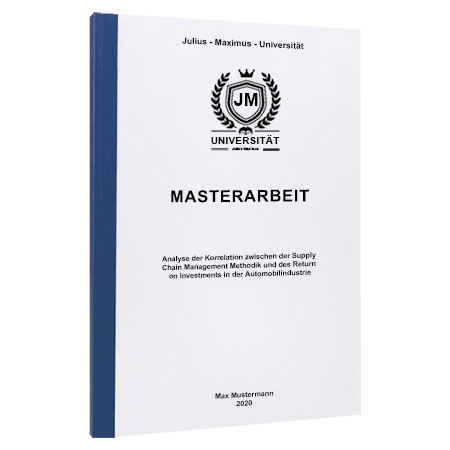 Masterarbeit drucken Münster