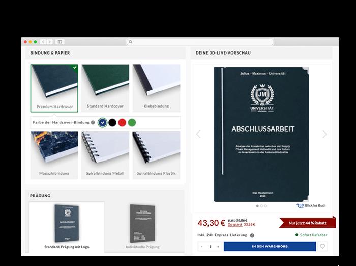 Tübingen Onlinedruckerei